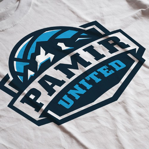 Logo for Pamir united volleyball