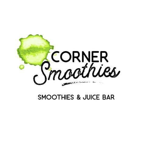 Corner Smoothies Design Entry #3