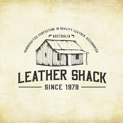 Logo concept for LEATHER SHACK