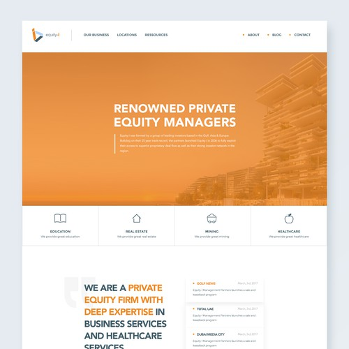 Renowned Private Equity Managers