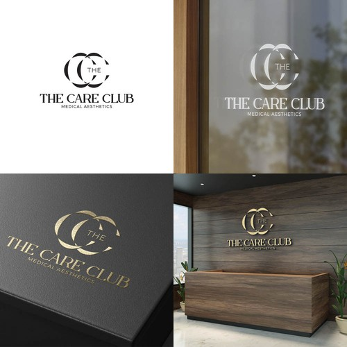 Luxury and elegant logo for The Care Club