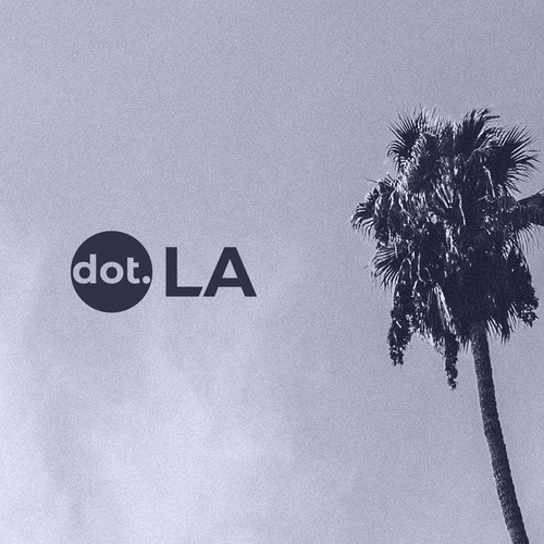 Breezy logo for news/media startup from LA