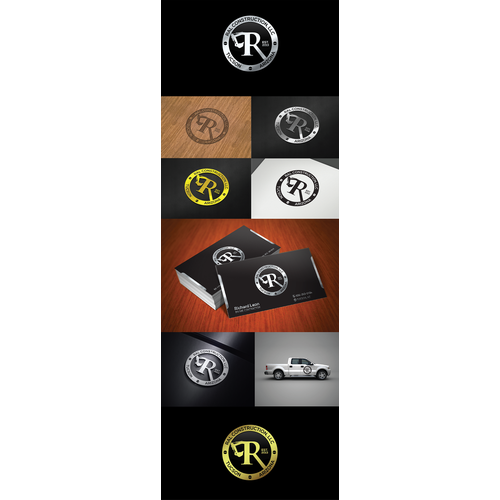 Help RAL Construction, llc with a new logo and business card