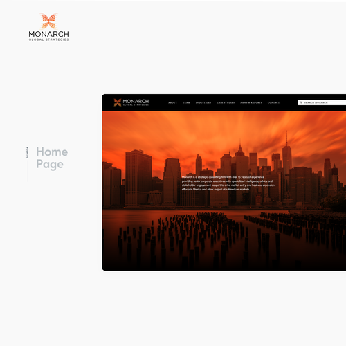 Website Design for Consulting Firm