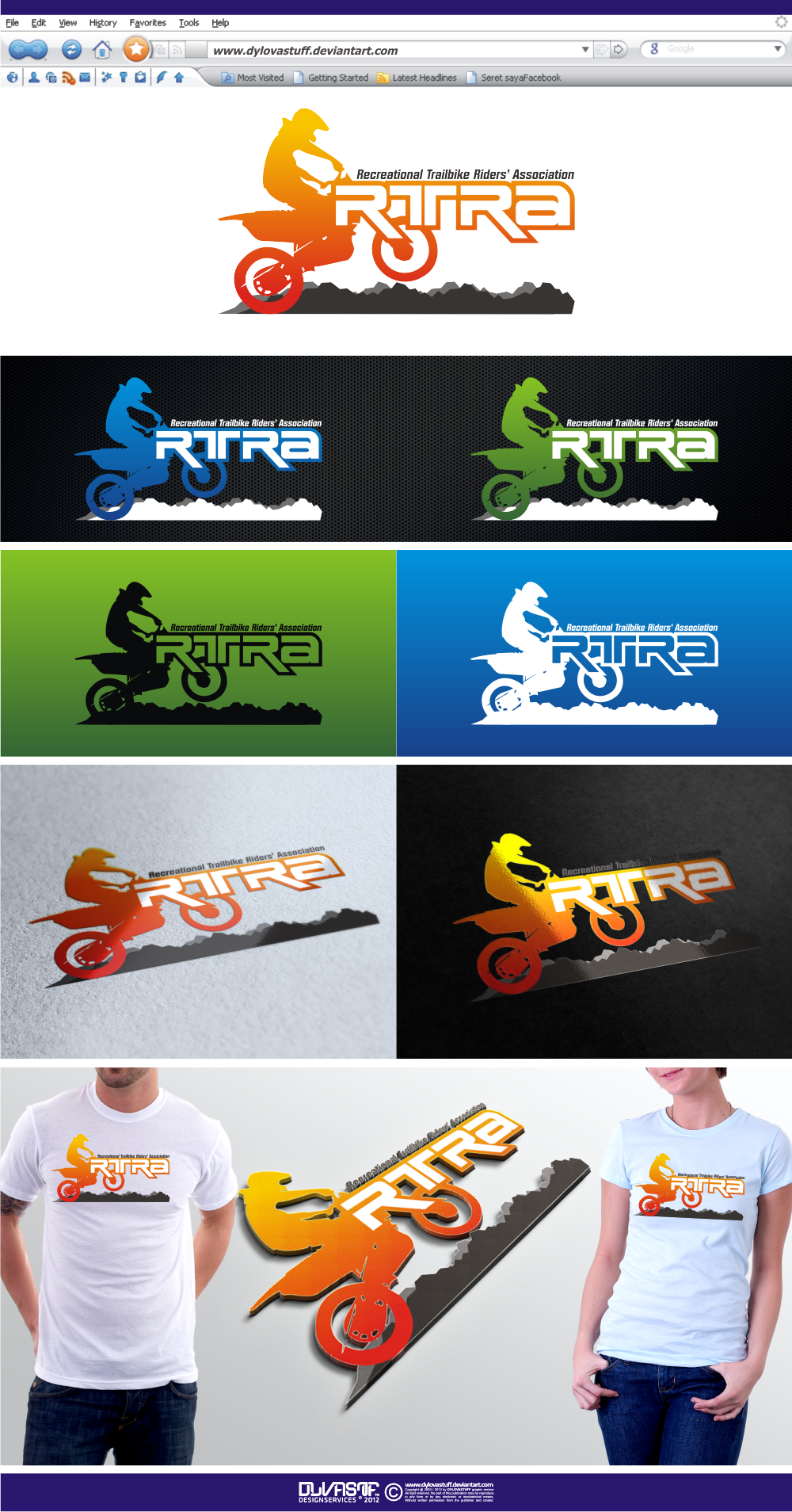 Create the next logo for RTRA