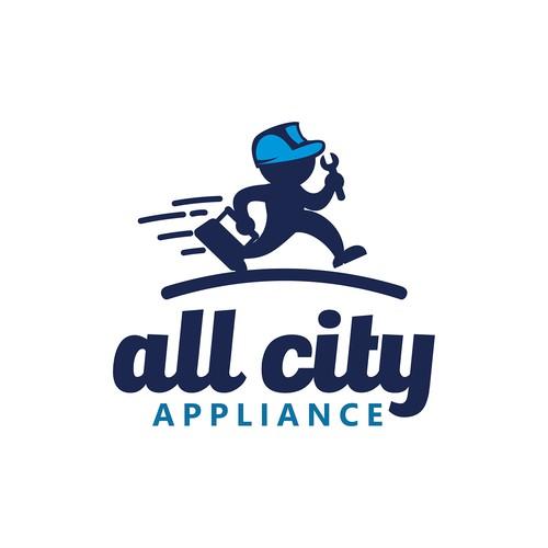 Logo Design All city Applance