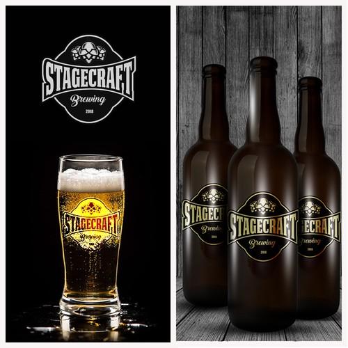 Brewery company logo