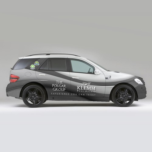 Modern Real Estate Team Car Wrap