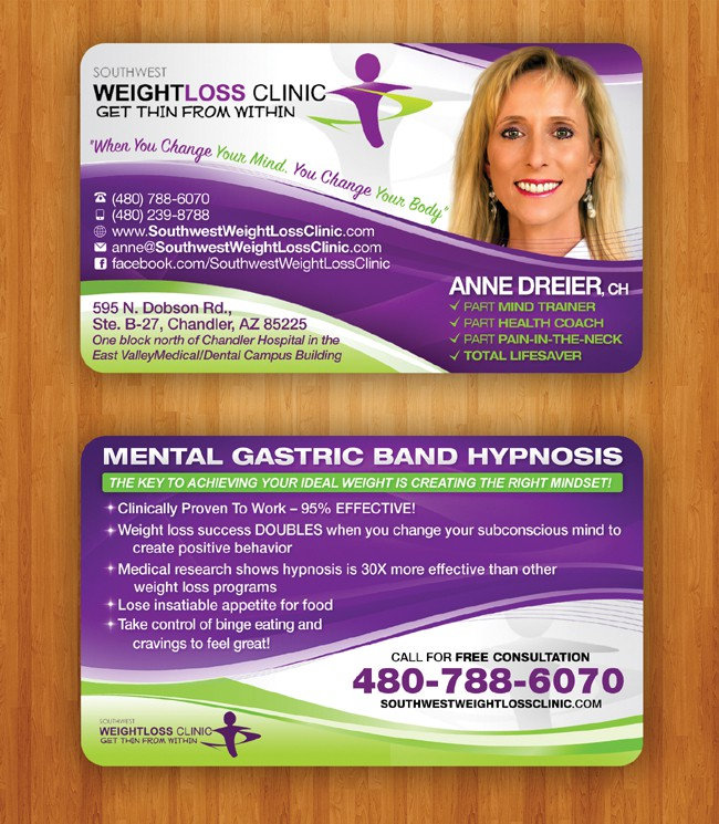 print or packaging design for Southwest Weight Loss Clinic