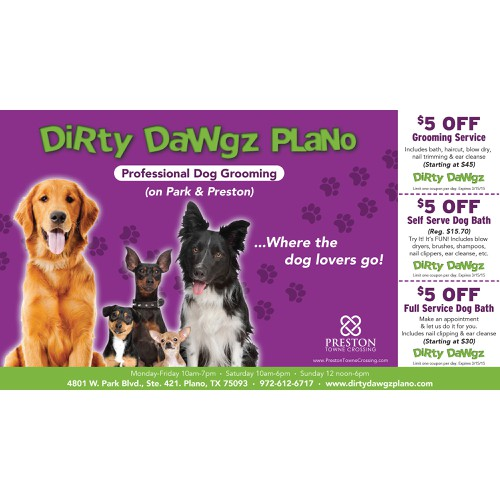 Create an ad for Dirty Dawgz