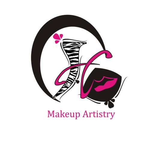 Make-up artist logo