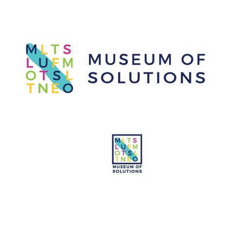 Smart and simple logo for the kids museum of solutions