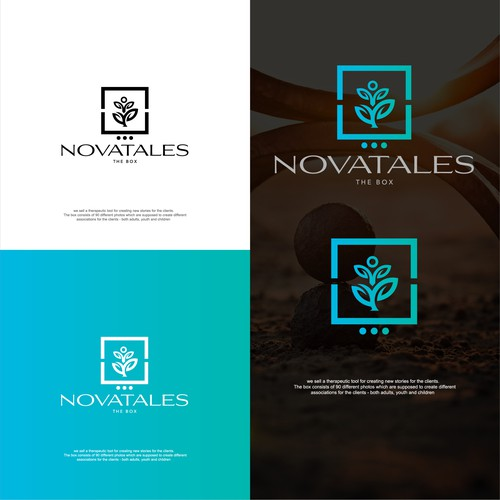 Logo concept for Novatales