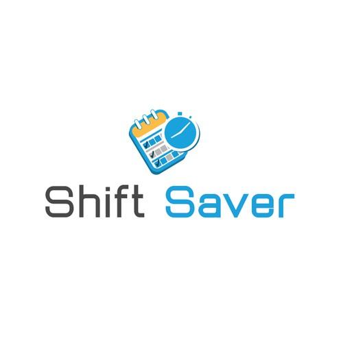 logo design - shift saver