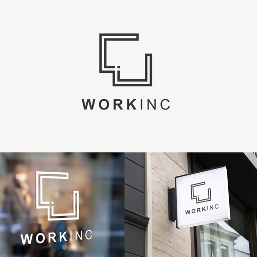 Logo design for Coworking spaces