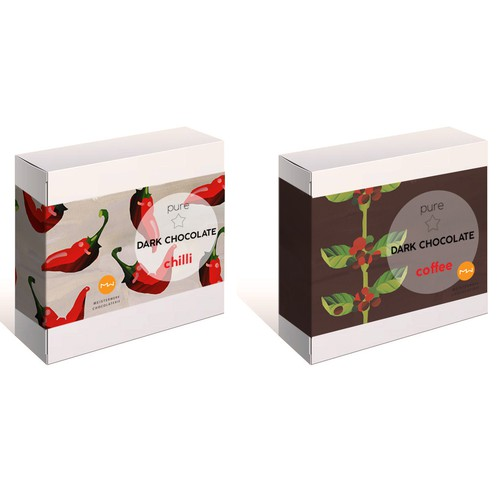 Chocolate Packing design