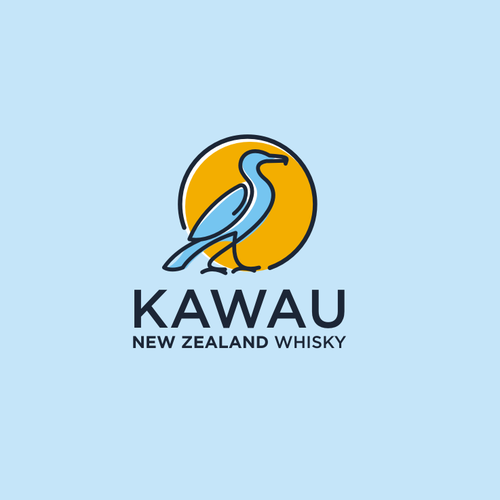 logo concept for kawau