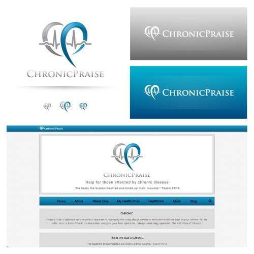 Logo + color scheme for ChronicPraise