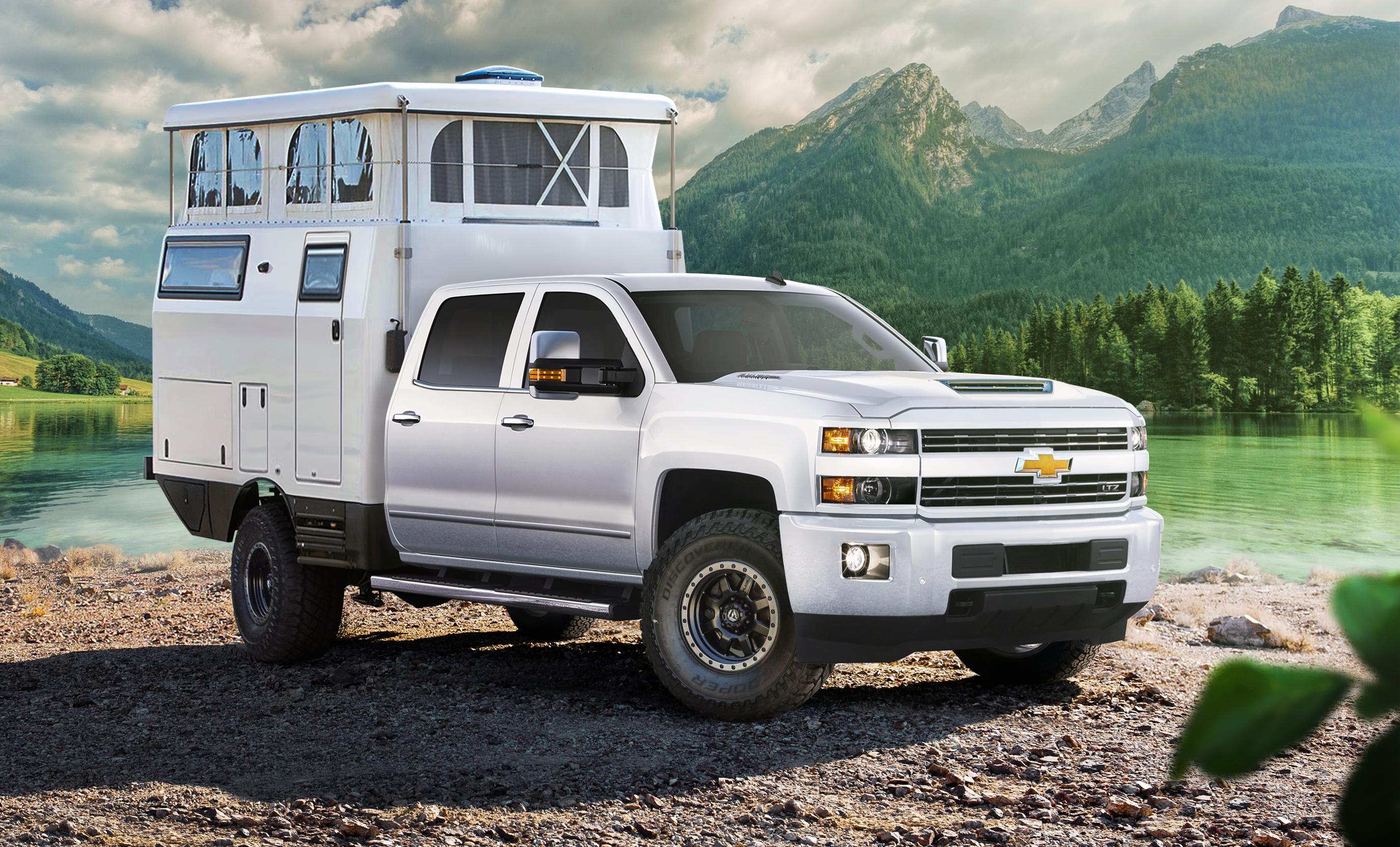 Rugged Off-Road Camper... trucks needed :)