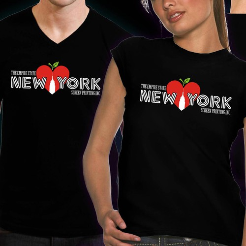 t-shirt design for NYC Screen Printing, Inc.