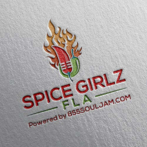 Logo for SPICE GIRLZ FLA podcast