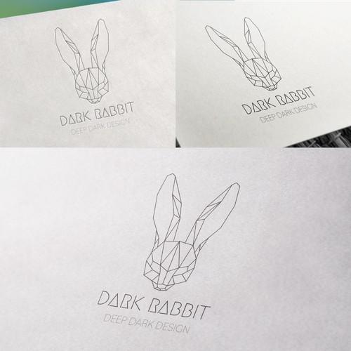 Dark Rabbit Logo Concept