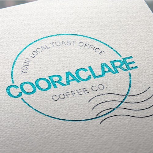 Logo concept for a post-office/coffee shop