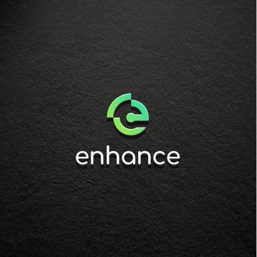 simple logo for enhance