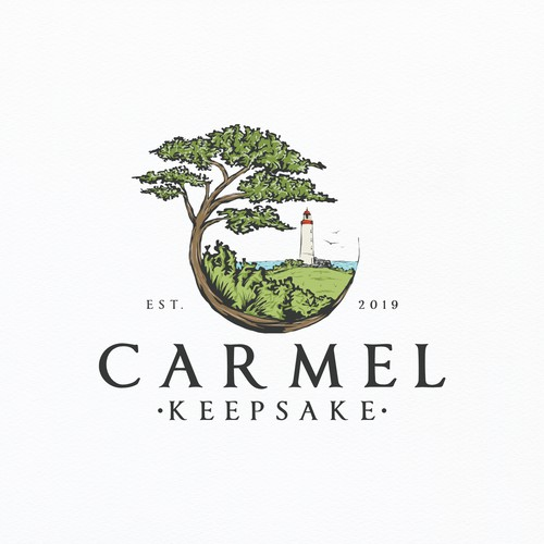 Logo for Carmel Keepsake