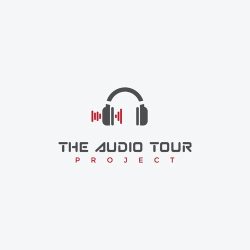 "Logo concept for ""The Audio Tour"""