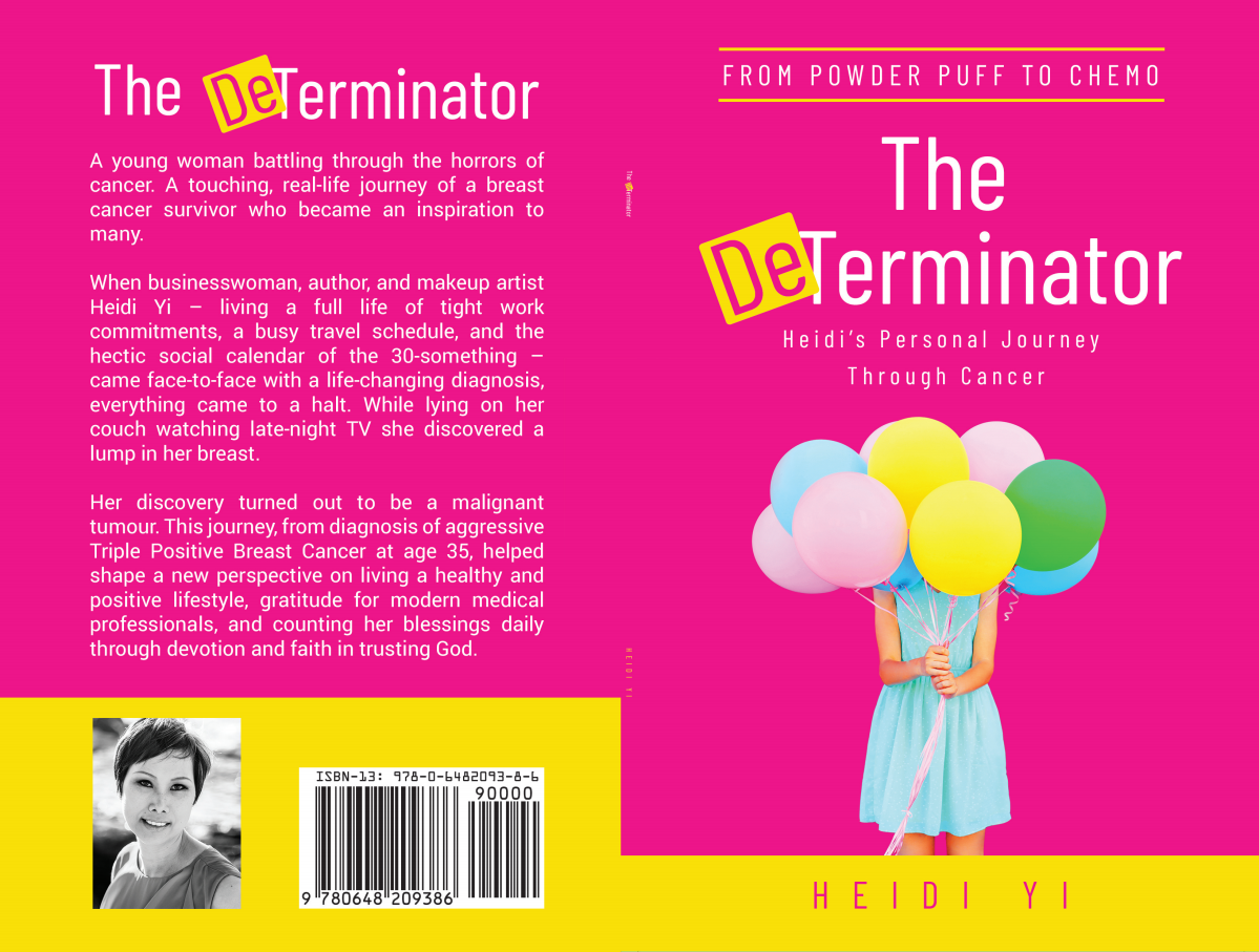 The DeTerminator print and eBook cover