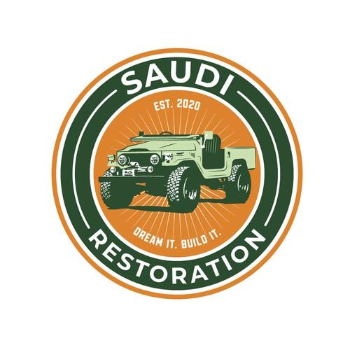 Logo for a car shop