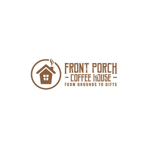 Winning Logo for Front Porch Coffee House