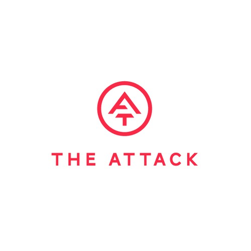 Monogram Logo Design for The Attack