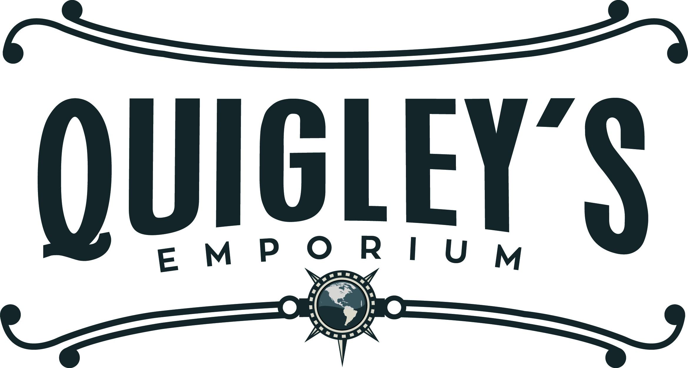 Create a logo for a shopping emporium that has a nostalgic but adventurous feel.