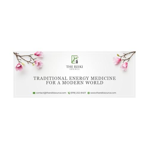 Facebook banner for Holistic Energy Medicine