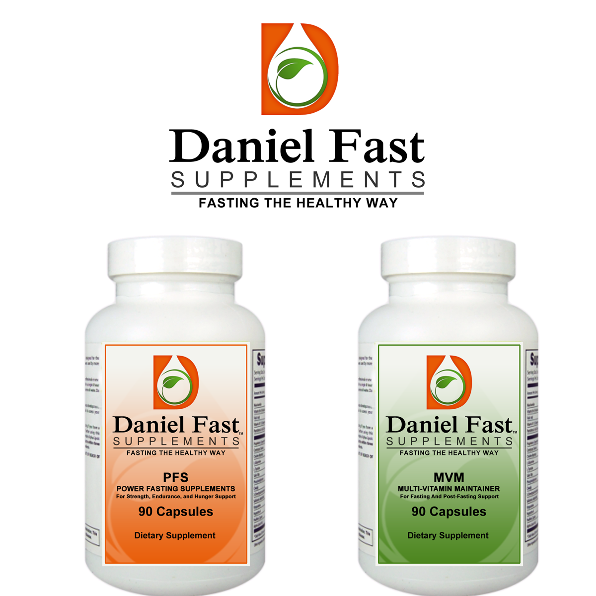 Create the next logo for Daniel Fast Supplements