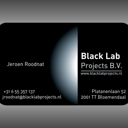 Black Lab Projects needs a new stationery