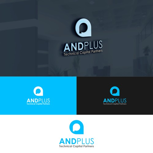 "a logo for ""ANDPLUS"""