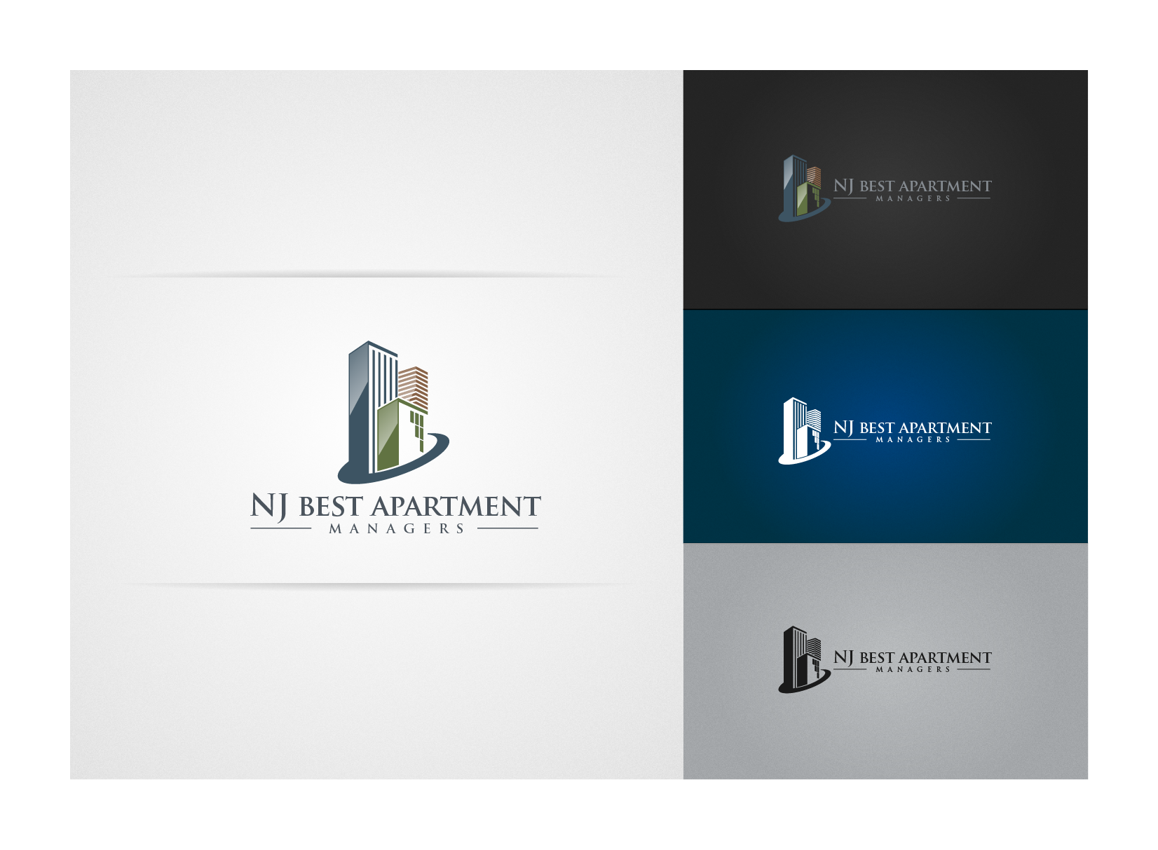 Help NJ Best Apartment Managers with a new logo