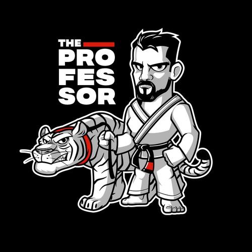 Logo for The Professor MMA