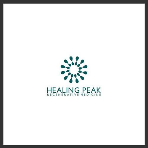 HEALING PEAK LOGO