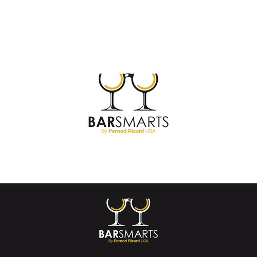 Create a winning logo design for BarSmarts, an online bartender education and certification program.