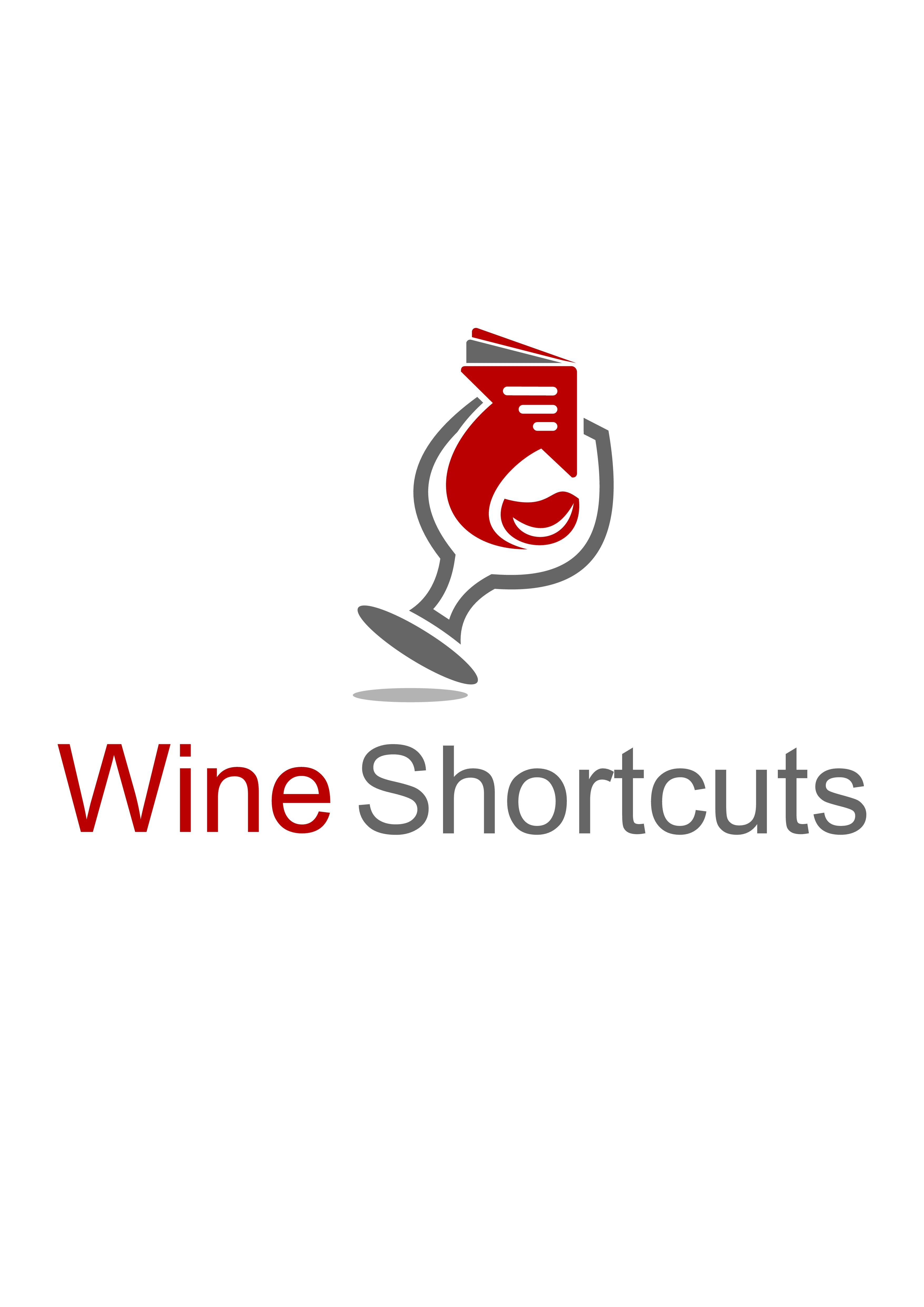 Create a Logo for a new online wine magazine/blog.