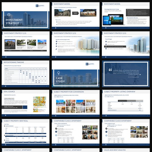 Real Estate Pitch Deck Design