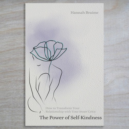Design an appealing book cover for 'The Power of Self-Kindness'
