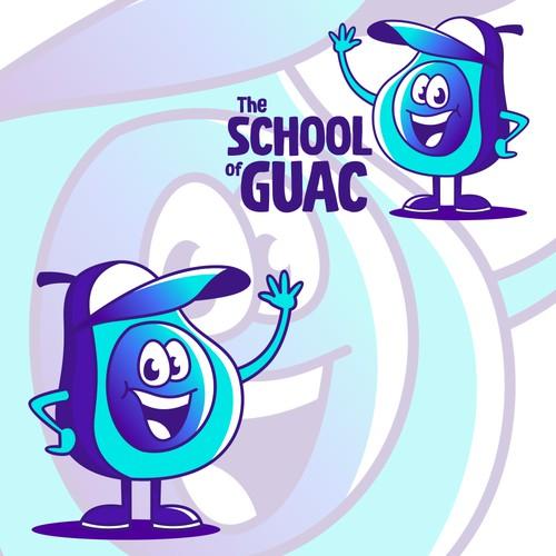 Avocado mascot