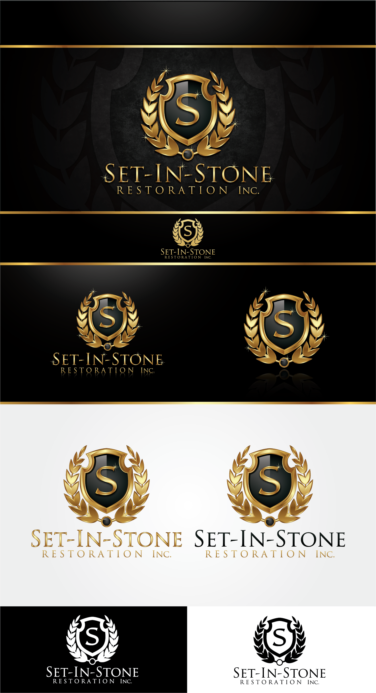 New logo wanted for Set In Stone Restoration Inc.