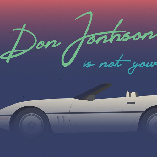 Don Jonhson is not your man