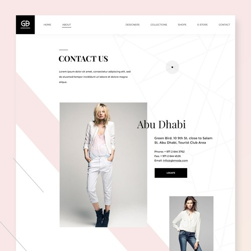Fashion Boutique | Contact Us